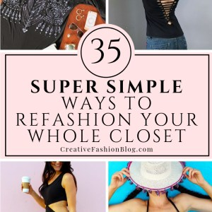 35 ways to refashion your whole closet