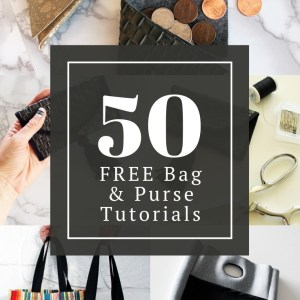 50 Bag Sewing patterns