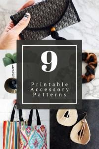 9 printable bag sewing patterns