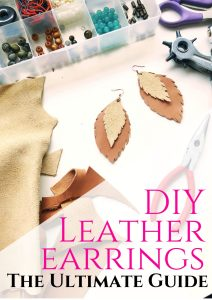 DIY leather earrings. The ultimate guide.