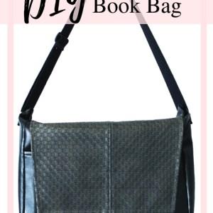DIY Messenger Bag with printable Pdf Sewing pattern