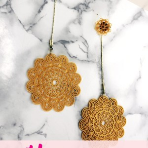 Liquid Sculpey DIY Boho Earring Jewelry Tutorial