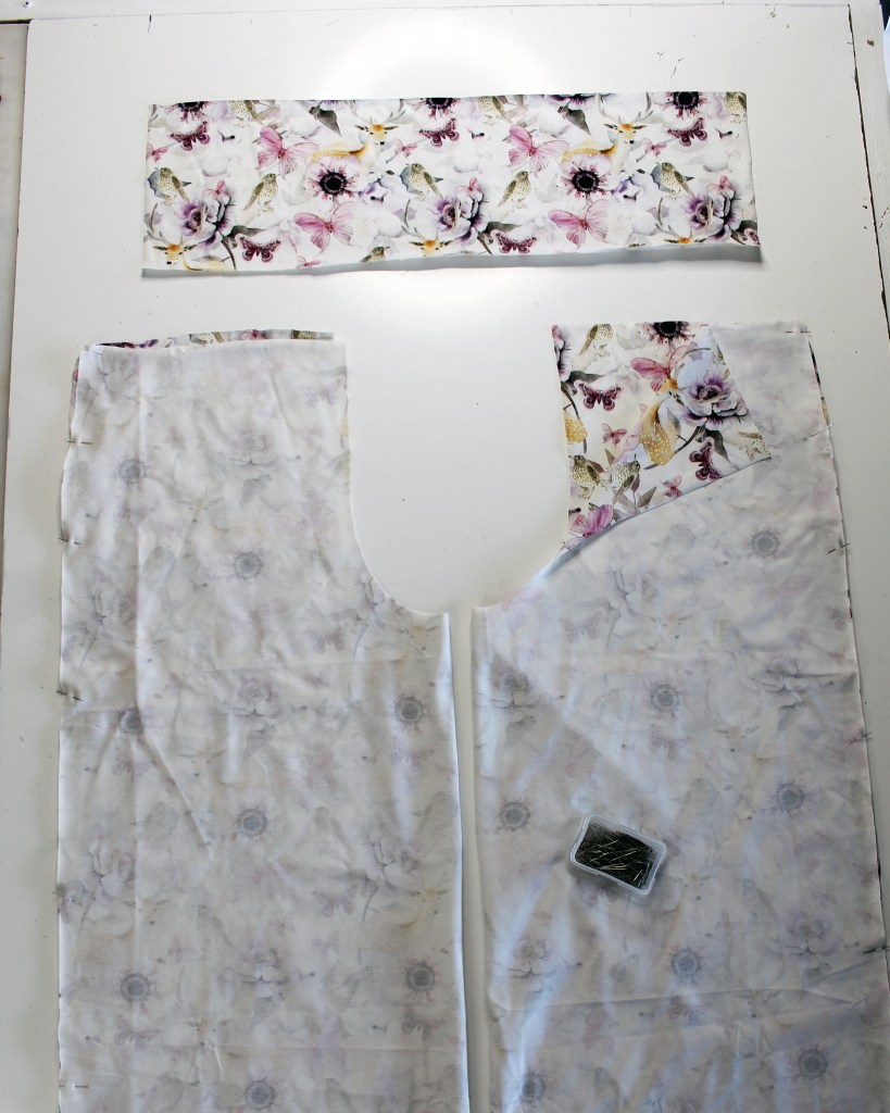 How to put together this wide leg pants pattern