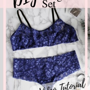 lingerie sewing pattern