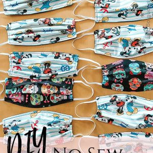 diy medical face mask sewing pattern
