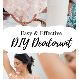 diy homemade deodorant stick