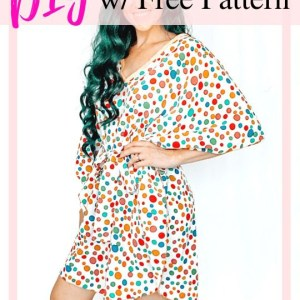 how to make a caftan dress..