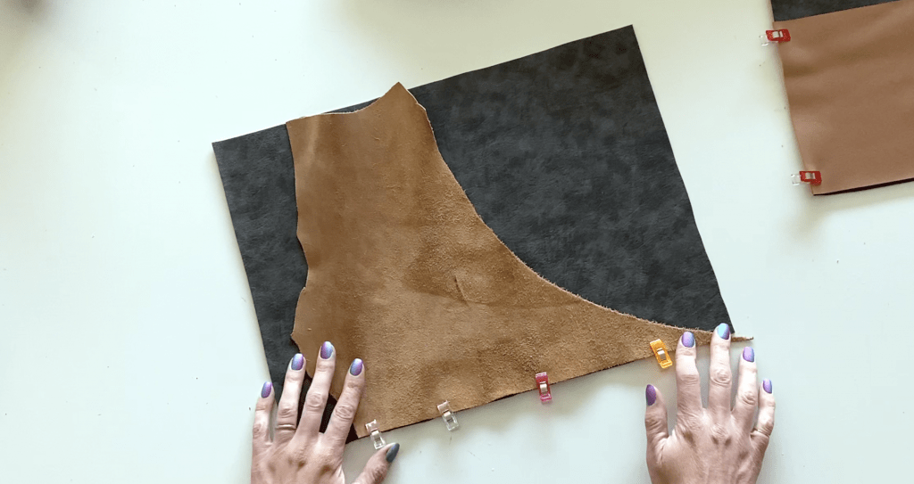step 12 leather laptop pouch tutorial