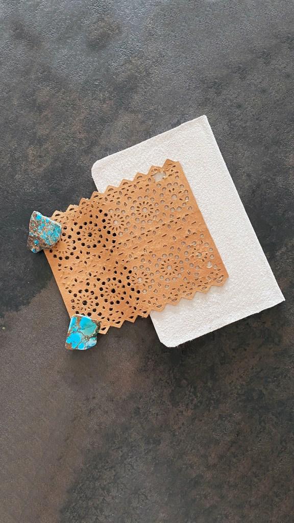 DIY leather journal 3