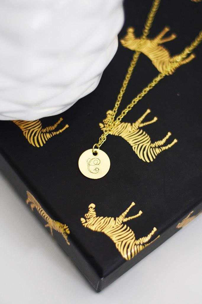 Cricut business ideas DIY monogram necklace