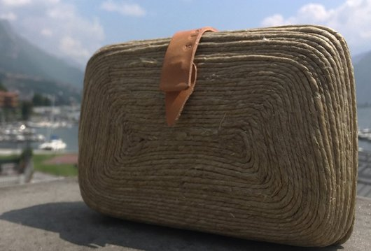 Clutch Bag in fibra naturale