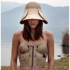 Bustier in fibra naturale