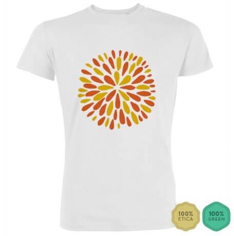 Con la T-shirt che porta fortuna ed energia positiva