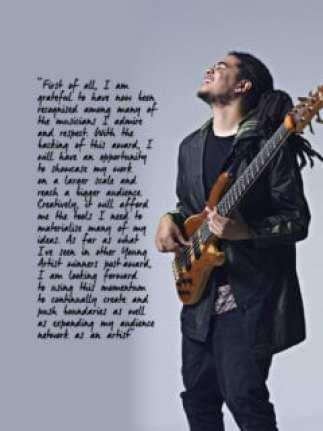 2017 Standard Bank Young Artist for Jazz, Benjamin Jephta.