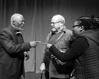Market Theatre CONGO The Trial of King Leopold II John Kani Robert Whitehead Lesedi Job