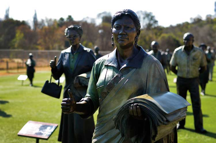 SA Tourism Long March to Freedom Maropeng Centre Cradle of Humankind