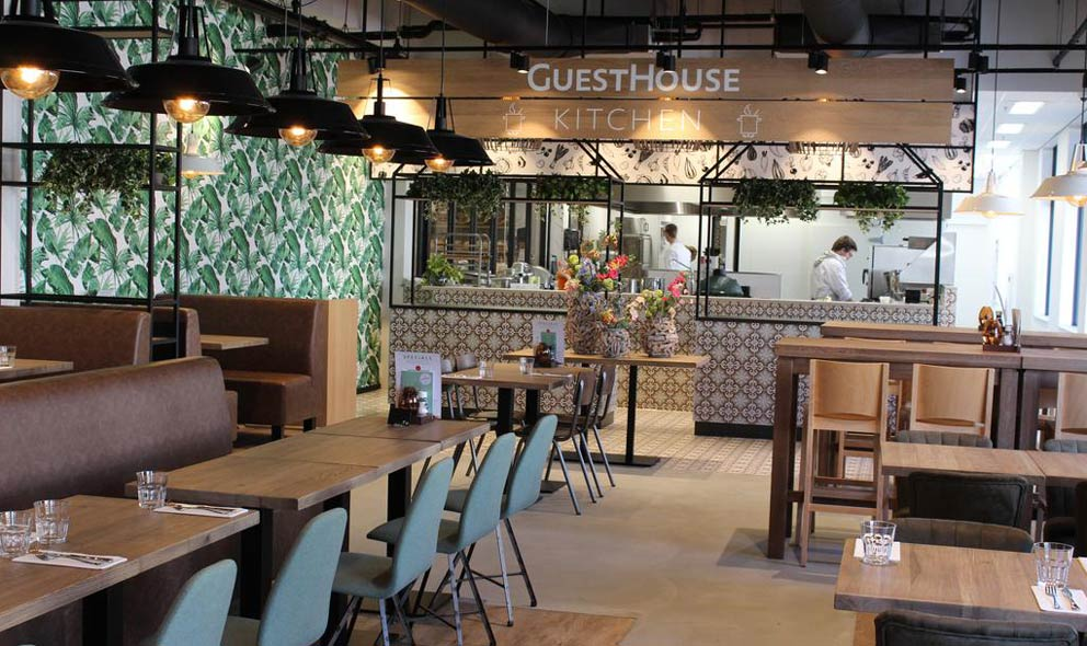 Guesthouse hotel keuken