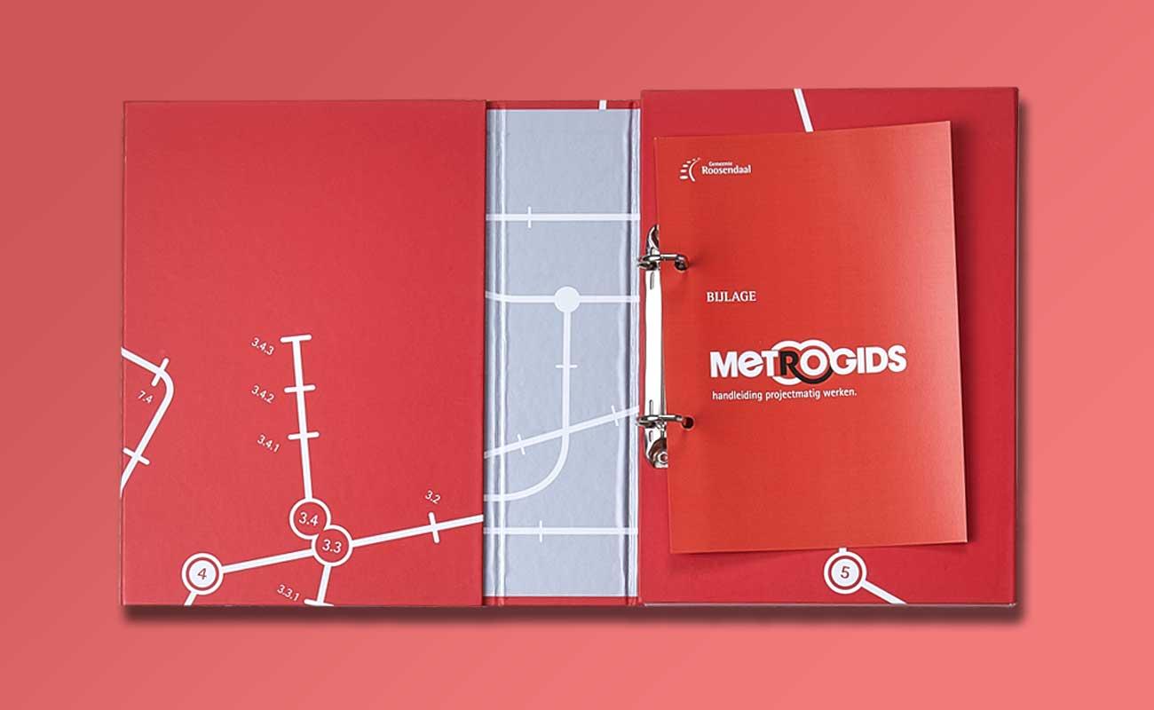 Metrogids Map Uitgeklapt