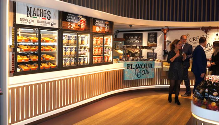 Pathé popcorn corner opening