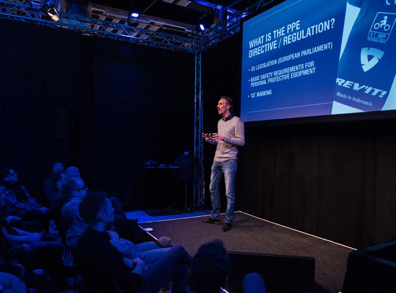 Rev'it International Sales Meeting presentatie