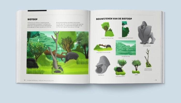 Diergaarde Blijdorp merchandise stijlenboek
