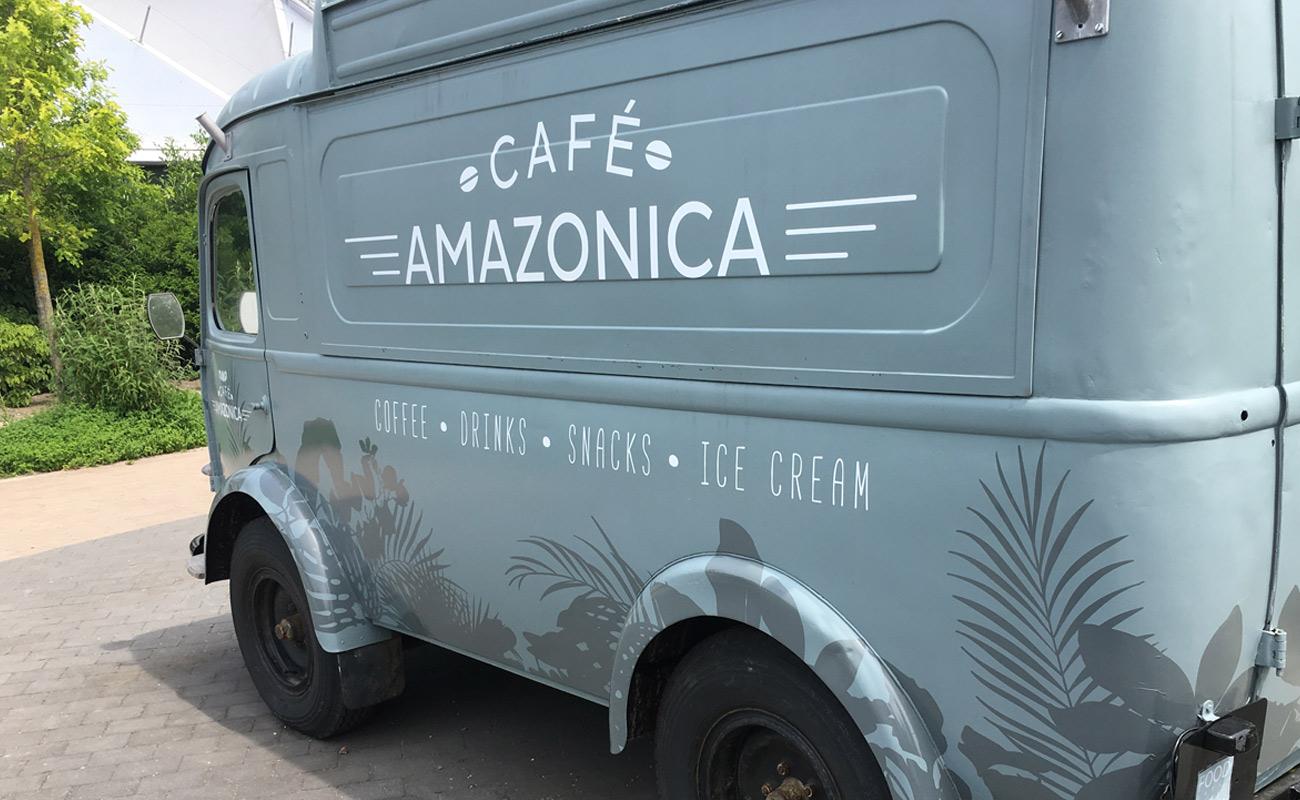 Diergaarde Blijdorp café amazonica foodtruck