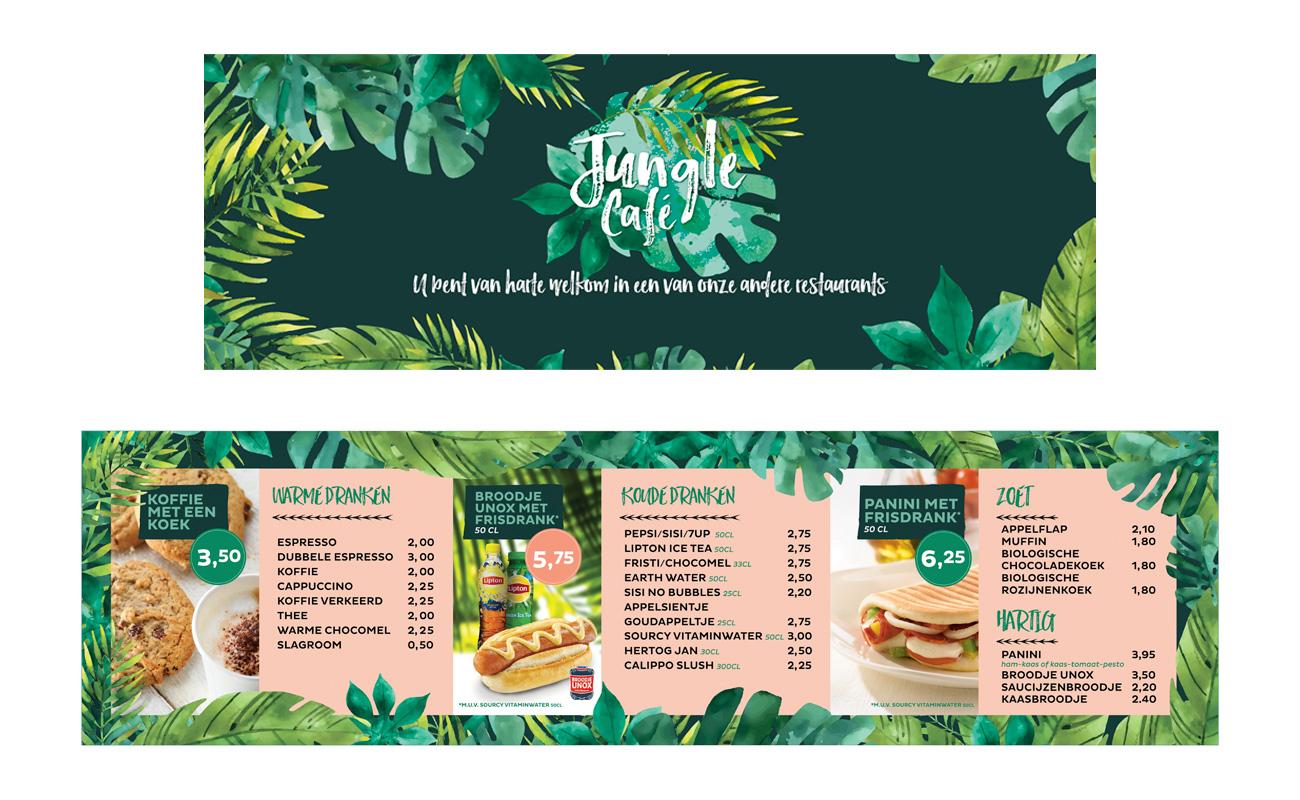 Diergaarde Blijdorp Jungle Café vormgeving