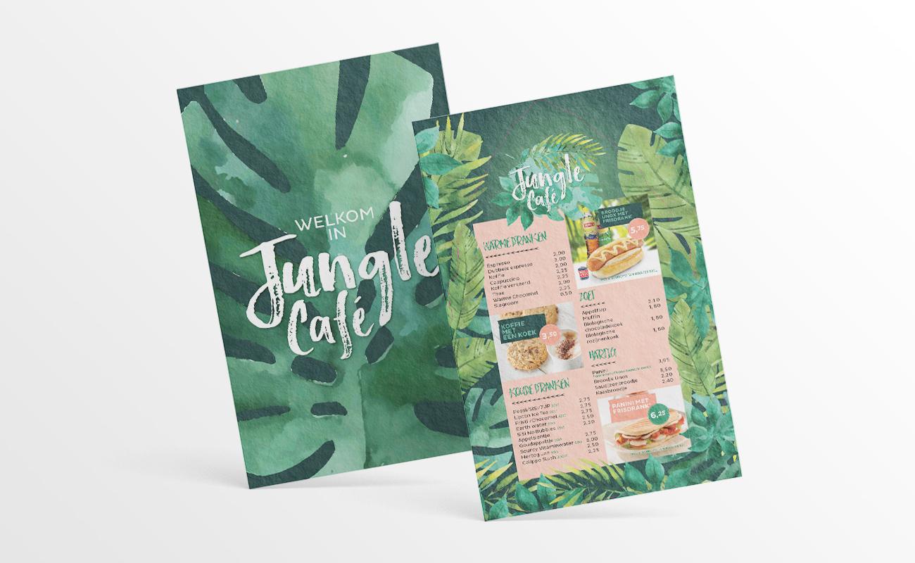 Diergaarde Blijdorp Jungle Café menukaart