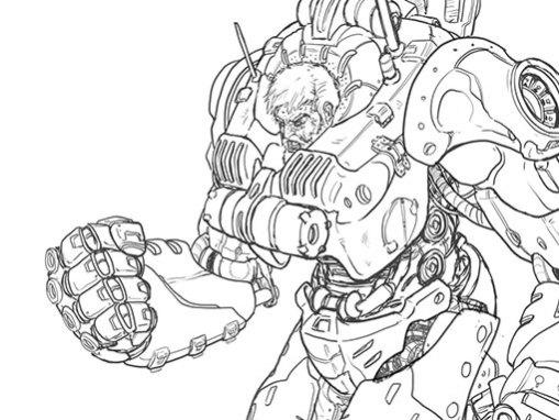 Ironman Brutal Suit concept