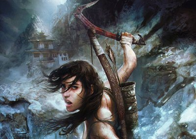 Tomb Raider Illustration