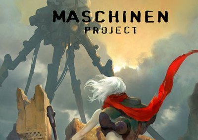 Maschinen Project book cover