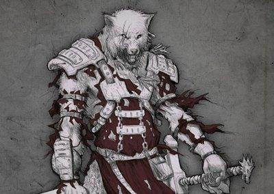 El Lobo hombre, the Werewolf