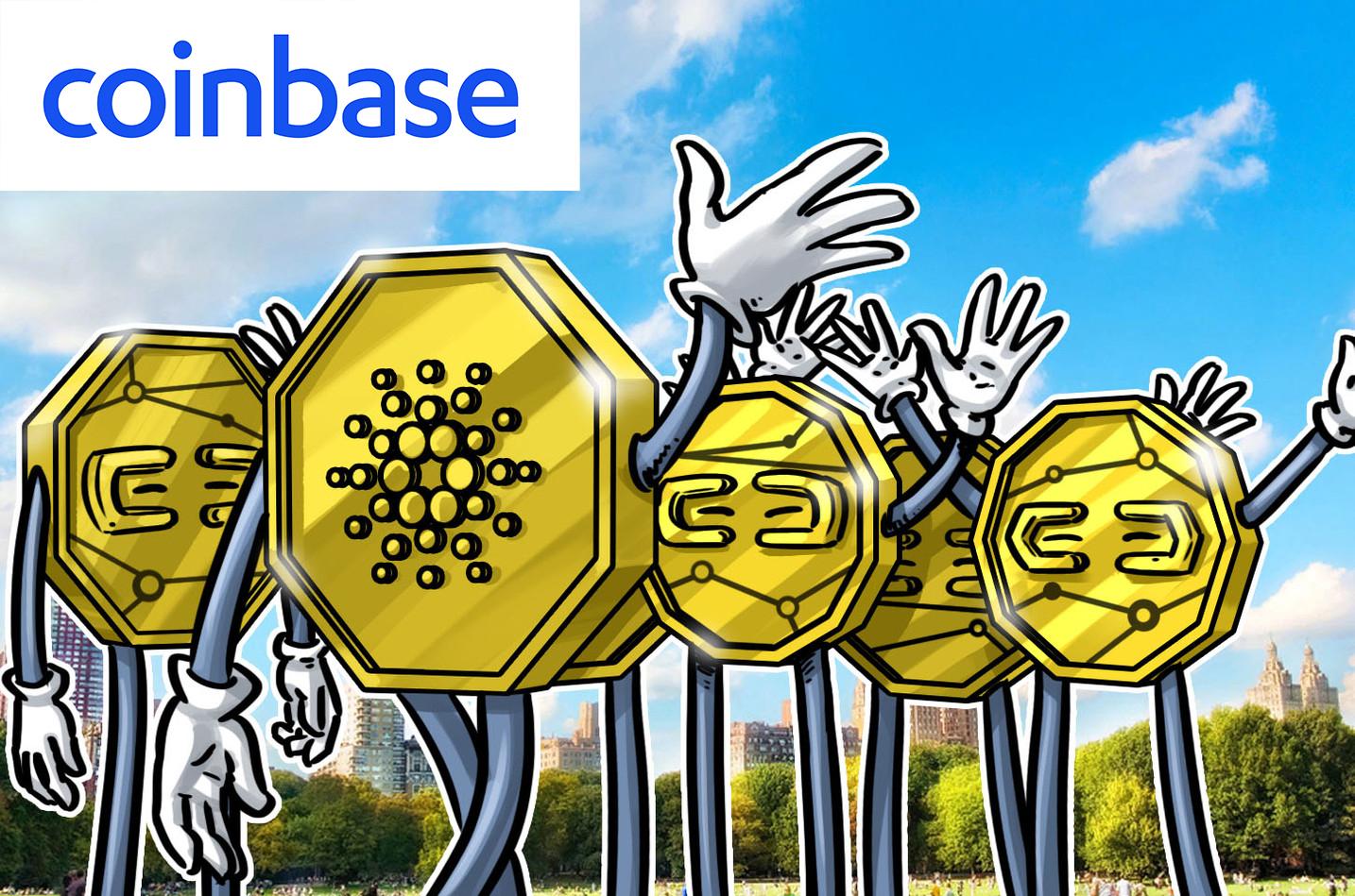 Coinbase-pro-adds-cardano-ADA-