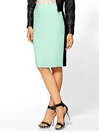 Mint Sporty Skirt Rhyme Los Angeles, $59