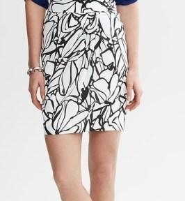 Printed Tulip Skirt Banana Republic, $89.50