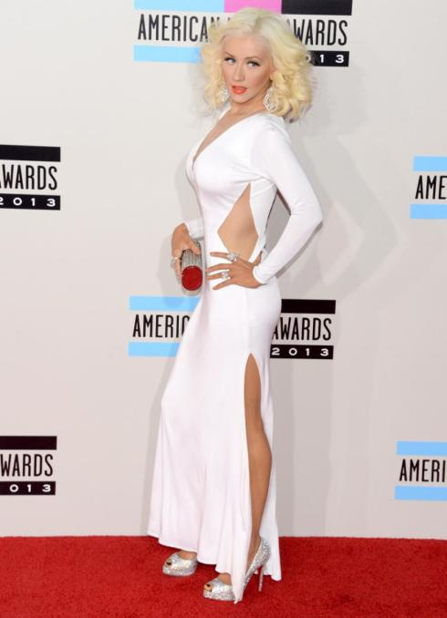 AMAs2013-Christina-Aguilera