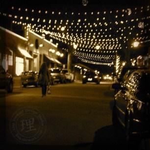 Blake Street Night Scene