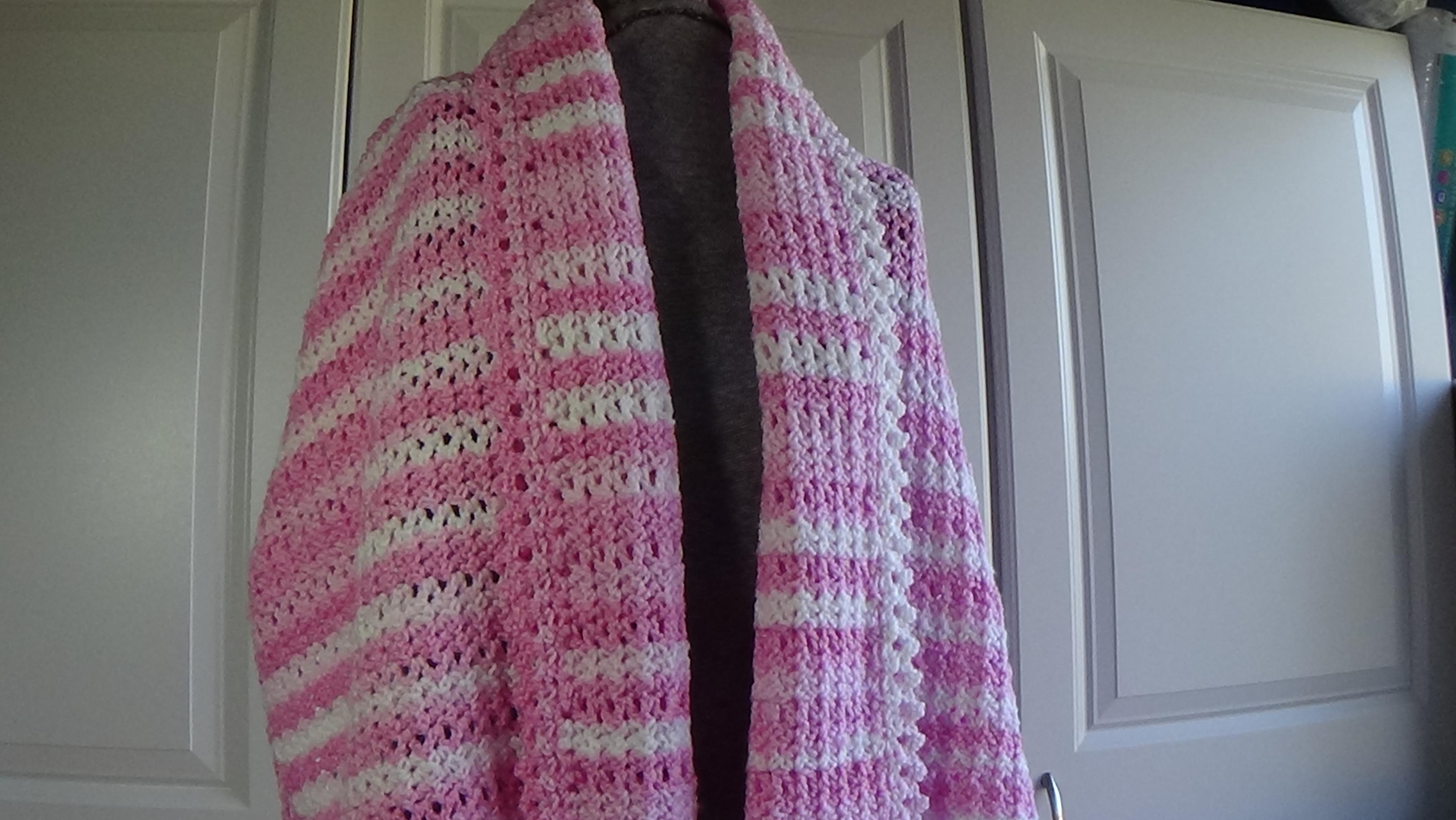 Loving Hug Prayer Shawl 508 Free Pattern Creative Grandma