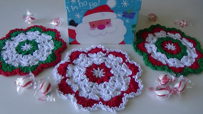 CG #126 Christmas Dishcloth