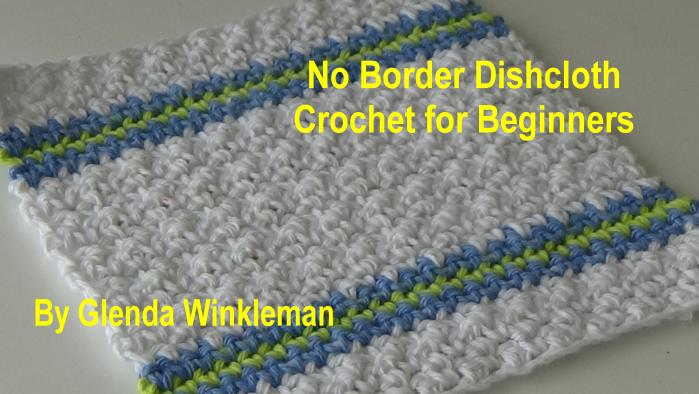 CG #124 No Border Dishcloth pic