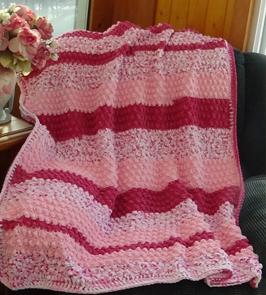 # 605 My Little Sweetie Baby Afghan Photo