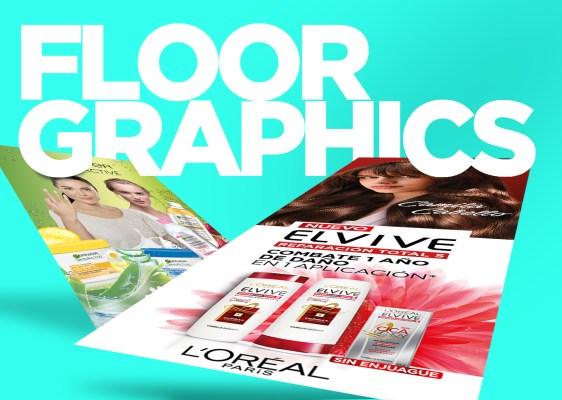 Impresión de floor graphics
