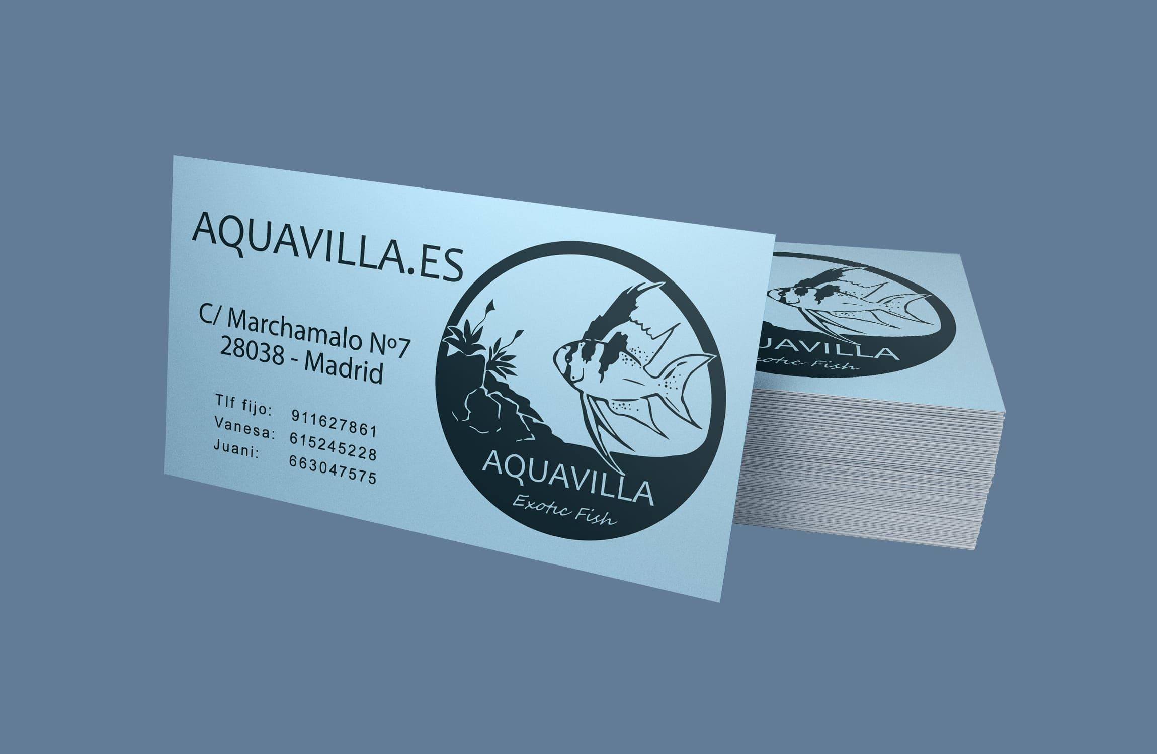 Diseño e impresión de tarjetas de visita