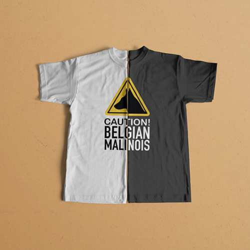 Camisetas Pastor Belga Malinois