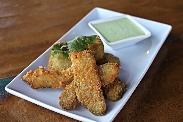 Totally Addictive Crispy Baked Avocado Fries