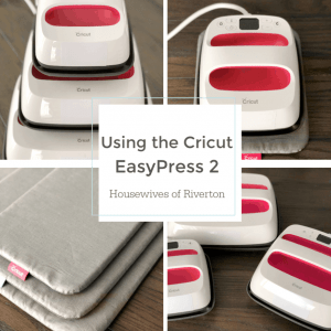 Using the Cricut EasyPress 2