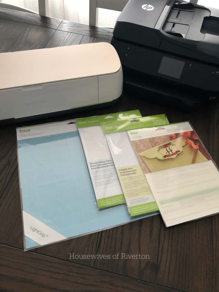 Using Cricut Print Then Cut | www.housewivesofriverton.com