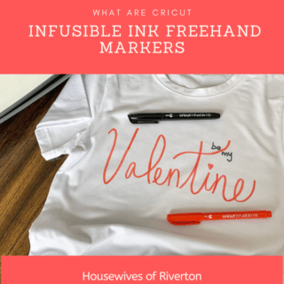 What are Cricut Infusible Ink Freehand Markers?