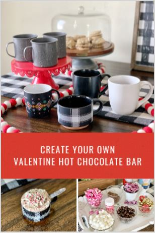 Create Your Own Valentine Hot Chocolate Bar