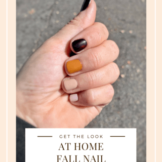 At Home Fall Nail Manicure